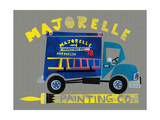 Majorelle Painting Co Giclee Print
