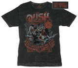 Rush - Rock and Roll Hall of Fame Shirt