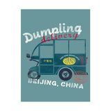 Delivery Truck Giclee Print