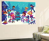 Wintry Days - Jack & Jill Wall Mural by Tatevik Avakyan