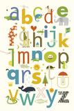 ABC Poster von Yuko Lau