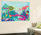 Hidden Ocean Treasures - Jack & Jill Wall Mural by Elisa Chavarri