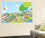 Come Celebrate - Humpty Dumpty Wall Mural by Robin Boyer