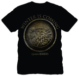 Game of Thrones - Winter is Coming Circle T-Shirt