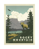 Rocky Mountain National Park Posters by  Anderson Design Group