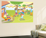 Pinata - Humpty Dumpty Wall Mural by Robin Boyer
