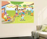 Pinata - Humpty Dumpty Wall Mural by Robin Boyer