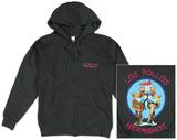 Zip Hoodie: Breaking Bad - Los Pollos Hermano - Fermuarlı Kapüşonlu Sweatshirt