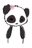 Pretty Panda Giclee Print