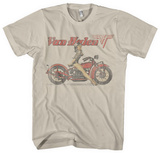 Van Halen - Biker Pin Up T-Shirt