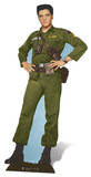Elvis - Army Days Stand Up Pappfigurer
