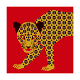 Mosaic Leopard Lámina giclée