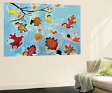 Leaf Kids - Jack & Jill Wall Mural by Stella May DaCosta