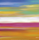 Prairie Abstract 7 Prints by Mary Johnston