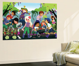 How Your Garden Grows - Jack & Jill Wall Mural by Tatevik Avakyan