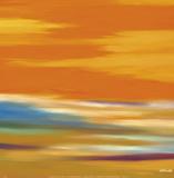 Prairie Abstract 12 Plakat av Mary Johnston