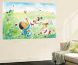 The Butterly Egg - Humpty Dumpty Wall Mural by Amy Wummer