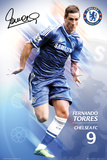 Fernando Torres Chelsea FC Poster