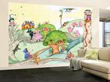 Wacky Fairy Tales - Humpty Dumpty Wall Mural – Large by Marsha Winborn