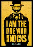 Breaking Bad - I am the one who knocks Plakáty