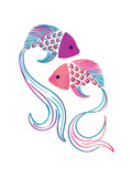 Petits Poissons Giclee Print
