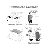 Unpublished Salinger - Cartoon Regular Giclee Print by Emily Flake