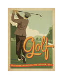 Golf Lucky Giclee Print by  Anderson Design Group