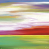 Prairie Abstract 11 Prints by Mary Johnston