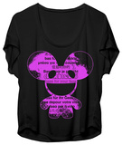 Juniors: Deadmau5 - Bass For Your Face (Dolman) T-shirts
