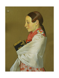 Young Girl of Menguszfalva Going to Church, c.1905-07 Giclee Print by Marianne Stokes