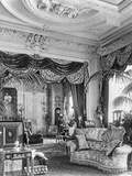 Principal Drawing Room, Sandringham, Norfolk, from 'The English Country House' Photographic Print by  English Photographer