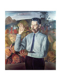 Portrait of Maxim Gorky (1868-1936), 1926 Giclee Print by Boris Dmitrievich Grigoriev