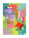 Untitled Abstract Painting Giclee Print by Jaime Derringer