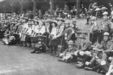 Girl Scouts, a Popular Contingent, from 'The Illustrated London News', 11th September 1909 Photographic Print