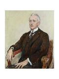 Gustav Pauli (1866-1938) 1924 Giclee Print by Max Slevogt