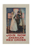 Recruitment Poster for the American Red Cross, Printed by Niagara Co., Buffalo, 1917 Giclee Print by Urquhart Wilcox
