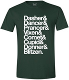 Reindeer List T-shirts