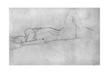 Reclining Female Nude, c.1914 Giclee Print by Gustav Klimt