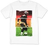 Bob Marley - Soccer 77 Tricolor T-shirts