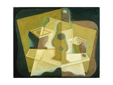 The Packet of Tobacco, c.1923 Giclee Print by Juan Gris