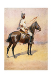 Jodphur Sardar Risala, Ratore Rajput, Illustration for 'Armies of India' by Major G.F. MacMunn,… Giclee Print by Alfred Crowdy Lovett