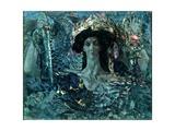 Six-Winged Seraph, 1904 Giclée-Druck von Mikhail Aleksandrovich Vrubel