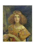 Salammbo, 1907 Giclee Print by Gaston Bussiere