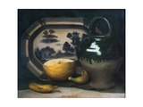 Still Life with Melon, 1908 Giclee Print by Mark Gertler