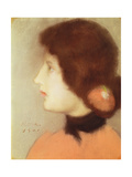 Cleo de Merode, 1901 Gicléetryck av Jozsef Rippl-Ronai