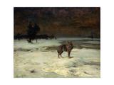 Free and Alone, c.1900 Giclee Print by Alfred von Wierusz-Kowalski