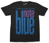Blue Note - Midnight on Black T-Shirt