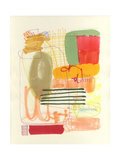 Abstract Drawing 12 Giclee Print by Jaime Derringer