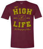 Miller High Life - Collegiate Logo T-shirts