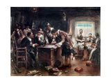The Signing of the Mayflower Compact, c.1900 Giclee Print by Edward Percy Moran